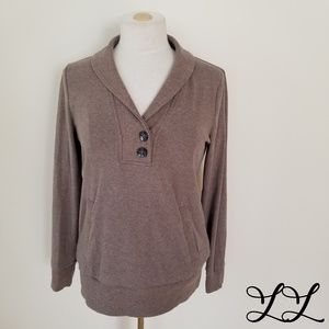 Banana Republic Sweatshirt Sweater Brown Cotton